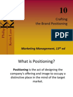 Crafting Brand Positioning