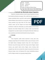 Penjabaran Intrinsik dan Ektrinsik dalam Drama Pygmalion karya Bernard Shaw