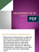 Measurement of Bp Re