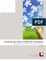Cracking the Code of Effective Innovation