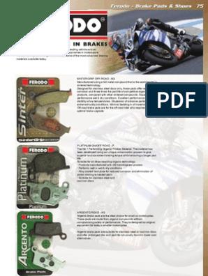 GILERA RUNNER 125 180 99-04 REAR Brake Pads FERODO Made in Italy