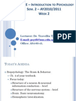 Lecture 2 - Biopsych