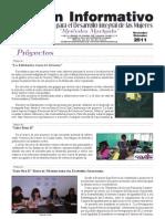 Boletin Informativo Noviembre Diciembre 2011