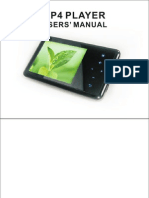 DJC MP4 Player 2.4 Manual