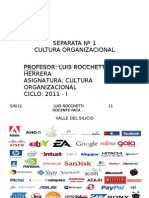 2011.Co.sesion 1. Cultura Organizacional