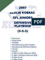 2007 Kobras GFL Juniors 353 Defense