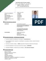 Curriculum Arturo Benavides