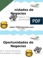 Descubre Oportunidades de Negocios en tu País como Emprendedor