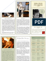 Tech Theatre Brochure