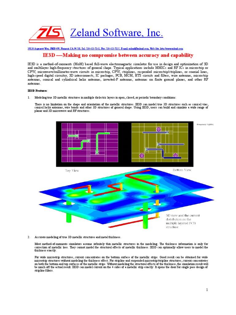 ie3d simulator