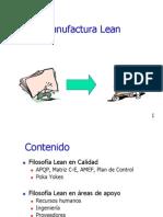 Manufactura Lean