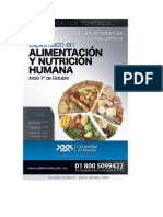 Diplomado en Nutrición Humana 1