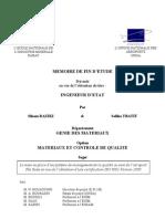 La mise en place d'un système de management de la qualité au sein de l'aéroport Fès Saiss en vue de l'obtention d'une certification ISO 9001 Version 2000