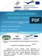 Language Learning Without Teacher