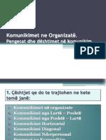 komunikimi ne organizate