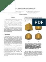 Ergun Akleman, Vinod Srinivasan, Zeki Melek and Paul Edmundson- Semiregular Pentagonal Subdivisions