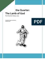 The Lamb of God (Quarter 1, Year 2012)