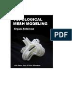 Ergun Akleman- Topological Mesh Modeling