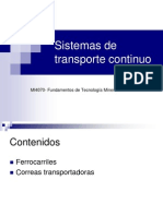 15. Sistemas de Transporte Continuo Subterranea