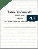 Trabajo Familia Tratados Internacionales