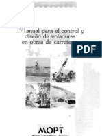 Manual para el Control y Diseño de Voladuras en Obras de Carreteras (MOPT)1