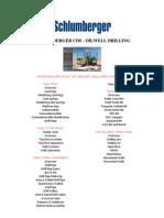 SCHLUMBERGER CDS