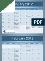 2012 Good Life Calendar