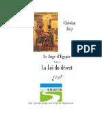 Juíz do Egito II - A Lei do Deserto - Christian Jacq