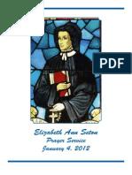 Elizabeth Ann Seton Prayer