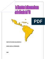 Monografía, EL BOOM DE LA LITERATURA LATINOAMERICANA EN LOS '60