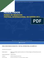 Informe de Resultados | Ronda de Negocios en el Festival CMD (FID 2011)