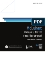 McLuhan, Pliegues, Trazos y Escrituras-post