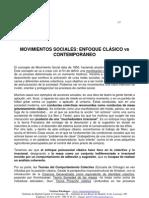 Movimientos Sociales - Enfoque Clasico vs Contemporaneo