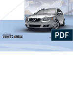 2011 Volvo V50 Owners Manual