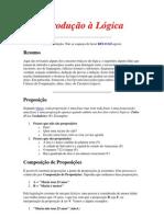 Introdução à Lógica-Proposições