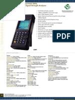 Analizador de Espectro Rf3201ec