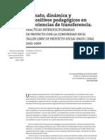 2009 GIONO-CROCCIA Dispositivos Pedagogicos