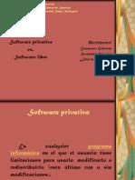 Software Libre y Privativo Gabriela