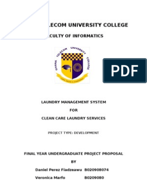 Laundry | Integrated Development Environment | Microsoft Access