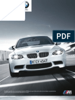Catalogo BMW M3 Coupe Cabrio Sedan