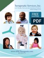 ARK Therapeutic's 2011 Catalog