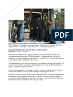 Egyptian Military Raids Offices of NGOs, Including US Non-Governmental Organizations