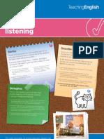 Teaching Listening Postr