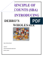 Accounts SBA