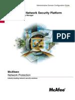NSP Admin Domain Configuration 5.1