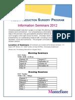 Information Seminar