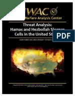 Threat Analysis - Hamas and Hezbollah Sleeper Cells in the United States-Urban Warfare Analysis Center