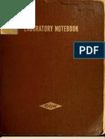 Alexander Shulgin's Lab Books Vol. 1