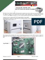Manual de Reseteo Samsung Ml1910 y Ml1915