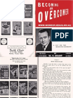 Becoming An Overcomer by W. V. Grant, Sr.
